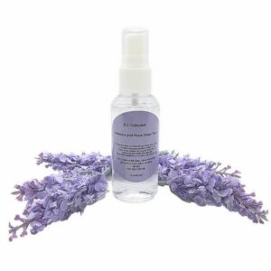 Lavender and Rose Water toner by BJL Collections