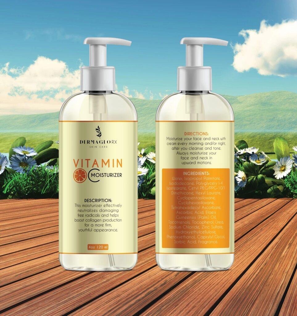 DermagloRX Skin Care Vitamin C Moisturizer