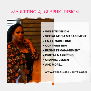 black-owned business Farrell's Daughter Marketing & Graphic Design