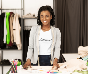 black-owned clothing and home goods business CP Designs Unlimited